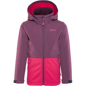 Meru Brest Softshell Jacket Kids Crushed Violet